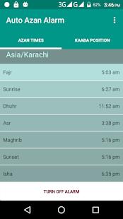 Auto Azan Alarm - náhled