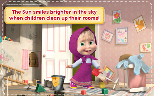 Masha and the Bear: House Cleaning Games for Girls- screenshot thumbnail