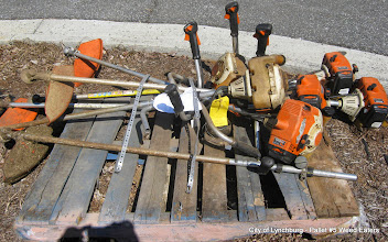 Photo: Lot 45 - (Pallet #5) - 6 Stihl FS-250 Weed Eaters