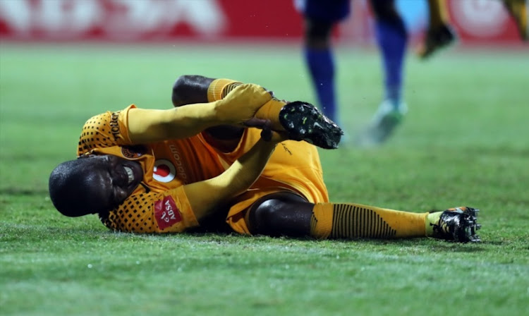 Willard Katsande of Kaizer Chiefs during the Absa Premiership match between Maritzburg United and Kaizer Chiefs at Harry Gwala Stadium on September 20, 2017 in Pietermaritzburg.