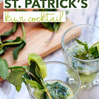 St. Patrick's Kiwi Cocktail