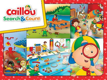 Caillou Search & Count- screenshot thumbnail