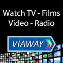 Viaway: International TV, Films, Radio and Podcast icon