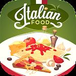 Italian Food Kitchen Recipes Icon