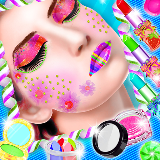 DIY Candy Makeup Maker! Edible Lipstick & Lip balm (game)
