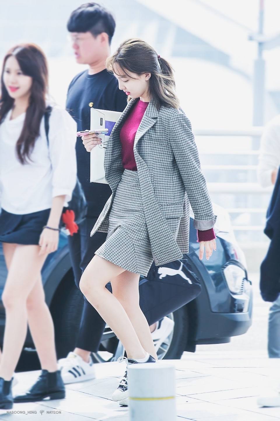 nayeon airport fashion
