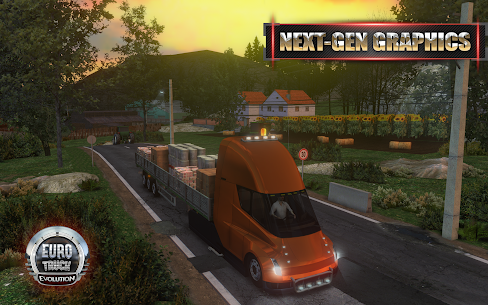 Euro Truck Evolution (Simulator) 2.1.0 Mod Apk [Unlimited Money] 1