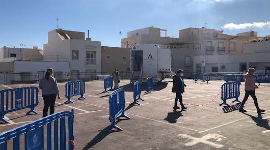 Salud cita esta semana a 2.385 personas para los cribados en Almería