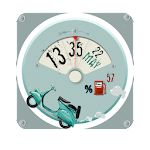 Watch Face: Scooter Icon