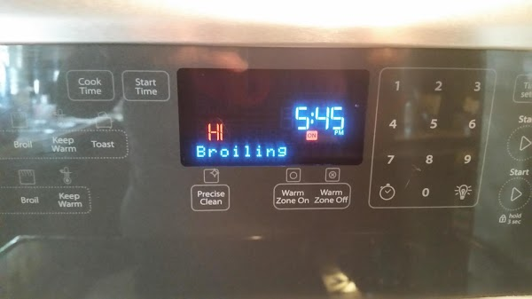 Set oven to Broil.