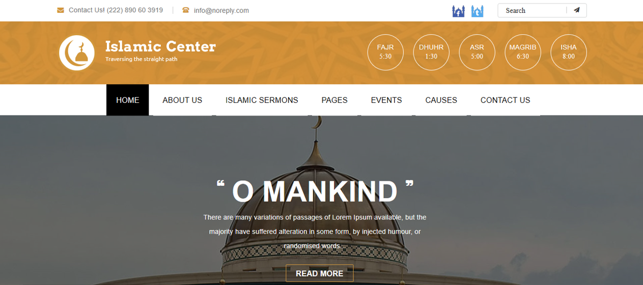 WordPress Themes Islamic