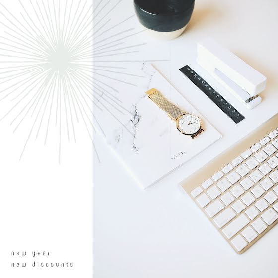 New Year New Discounts - Instagram Post Template