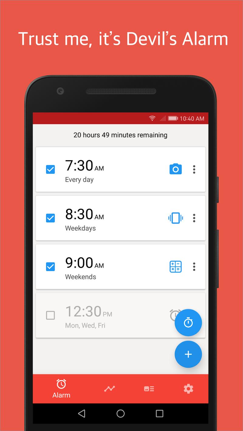 Alarmy (Sleep If U Can) - Pro Screenshot 0