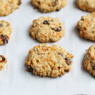 Healthy Oatmeal Raisin Cookie.