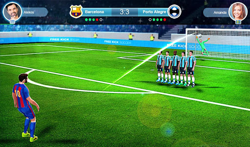 FreeKick PvP Football 1.2.1 gameplay | by HackJr.Pw 13