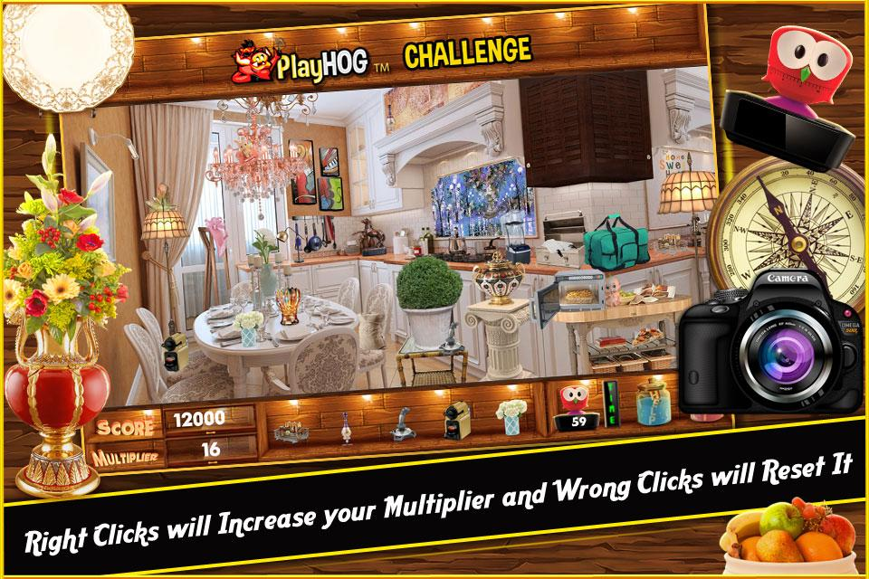 Hidden Object Games In My Kitchen Challenge # 311- screenshot