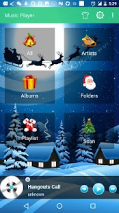 Gothic Theme For Free Music Player - náhled
