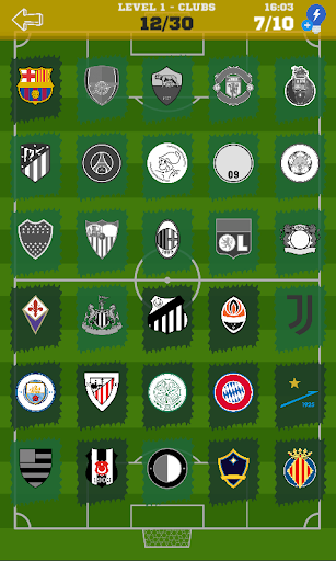 Quiz Football Logo 2020 Clubs and National Teams ⚽ 1.0.12 screenshots 2