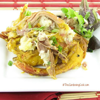 Loaded Potato and Pulled Pork Casserole