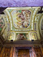 Photo: Ceiling of the private chapel of the Cardinal Ippolito II d'Este in Villa d'Este in Tivoli, Lazio, Italy