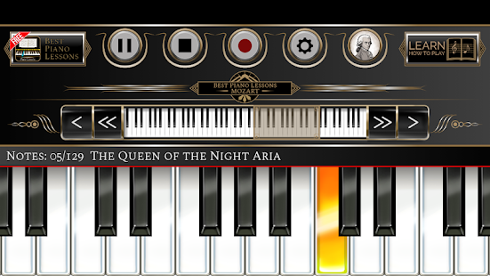 App Best Piano Lessons Mozart APK for Windows Phone
