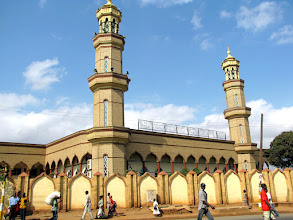 Photo: Lilongwe - mosque in the Old Town (Area 2)