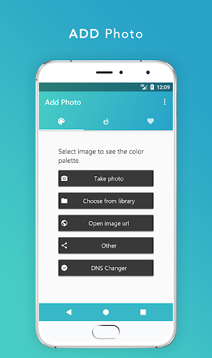 Palette - Extract Real/Live colors from any photo screenshot 1