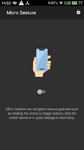 App Micro Gesture APK for Windows Phone