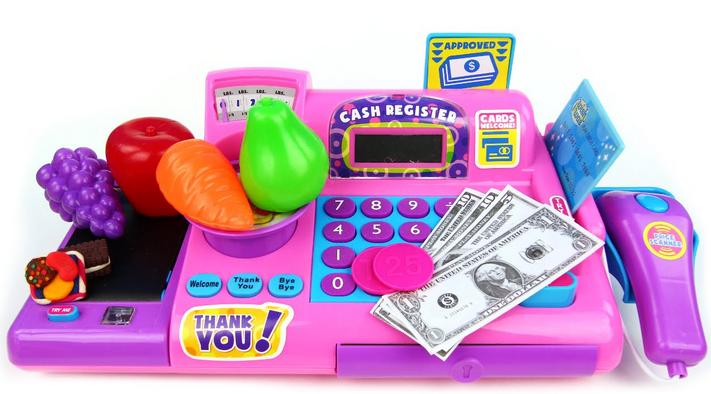 Cash Register Toys Review - screenshot