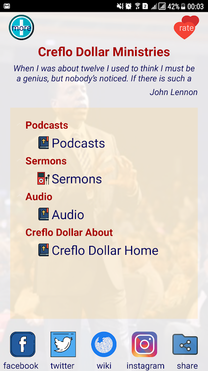 Creflo Dollar Ministries Android Apps Appagg