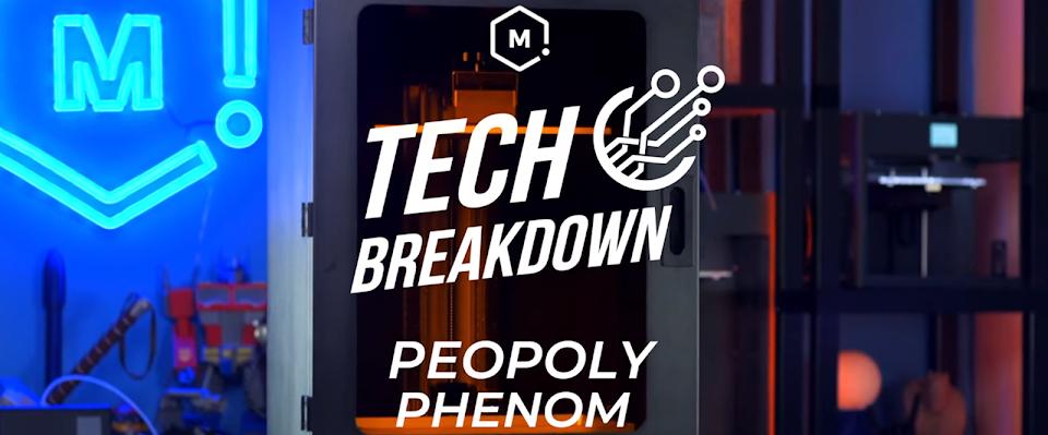 Tech Breakdown: Peopoly Phenom Resin 3D Printer