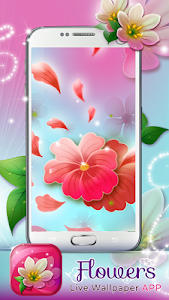 Flowers Live Wallpaper App screenshot 3