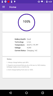 Speaking Battery Alert- screenshot thumbnail