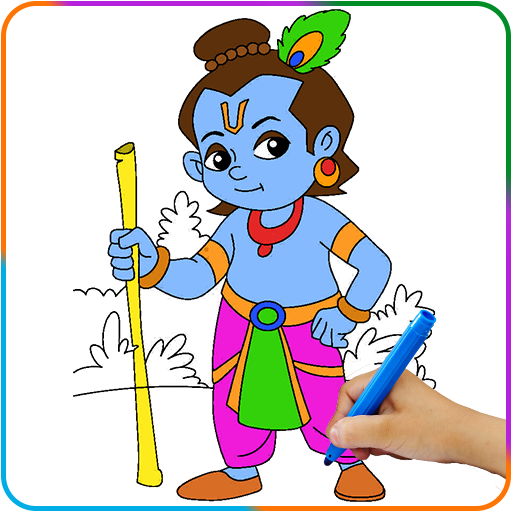 Lord Krishna Paint And Colors Aplikasi Di Google Play