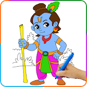 Lord Krishna Paint and Colors