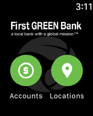 First Green Bank- screenshot