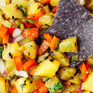 Pineapple Salsa Recipe (Grilled).