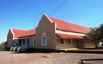 Photo: Mochudi school where also Precious Ramotswe went as young girl