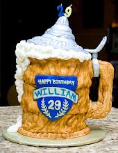 Photo: Will's Birthday Beer Stein cake July 2011 Blog Post: http://createsharerepeat.blogspot.com/2011/07/project-of-week-wills-birthday-part-1.html