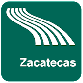 Zacatecas Map offline