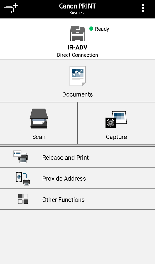 Canon PRINT Business- screenshot