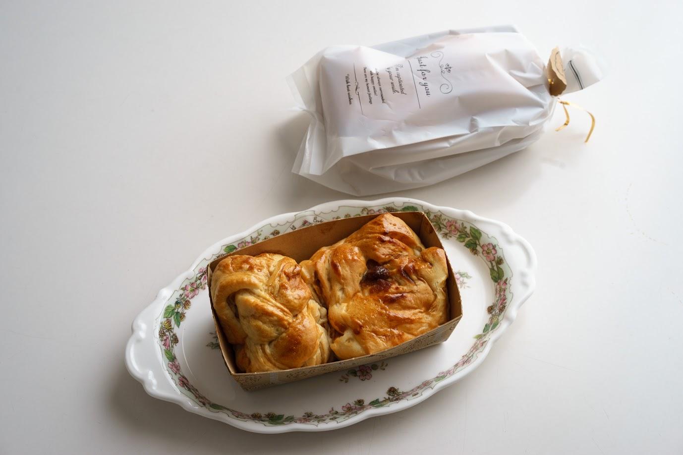 水谷さんからの手作りのパン