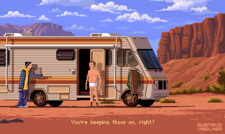 pixel art breaking bad
