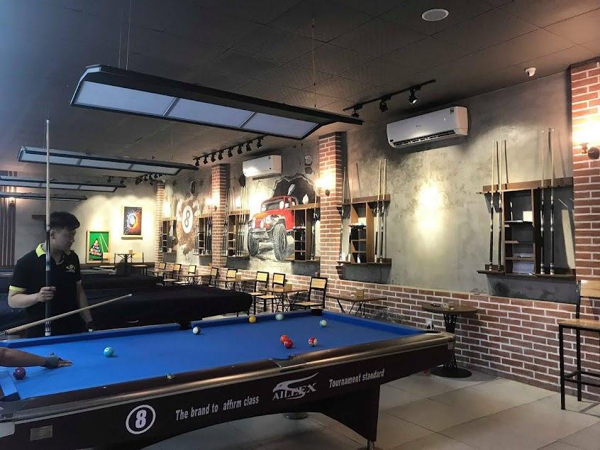 thiết kế thi công quán billiards chất lượng