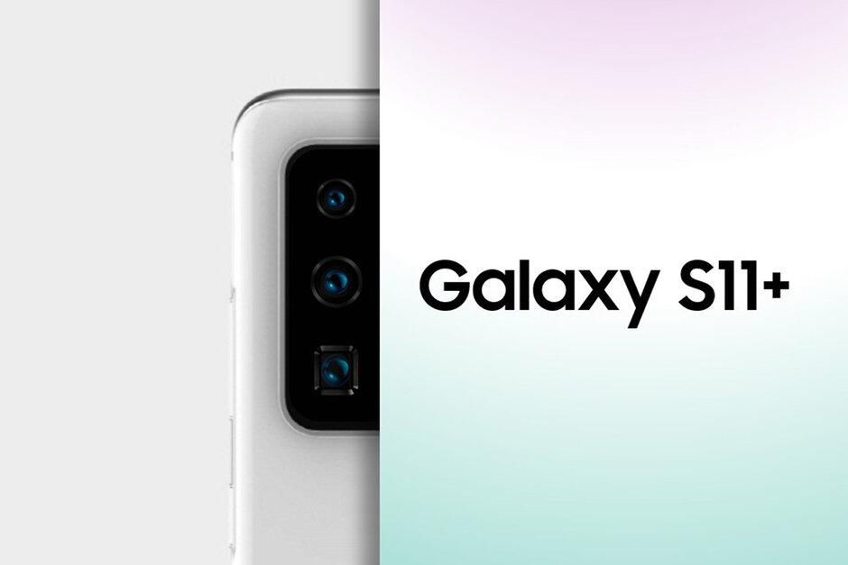 New photo reveals Galaxy S11+ cameras, gives first glimpse at periscope zoom shooter