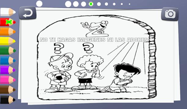 Download LOS 10 MANDAMIENTOS PARA COLOREAR APK latest version game ...