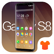 New 2018 Launcher - Golden Theme for Galaxy S8