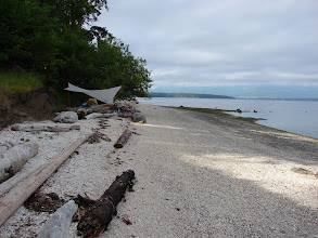 Photo: Campsite at Blackberry Point.