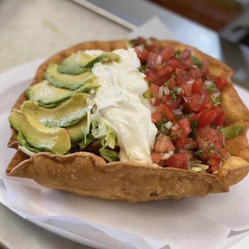 Lengua Taco Salad