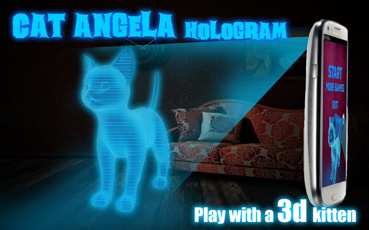 Cat-Angela-Hologram-3D-Kids 20